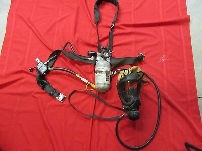 MSA PremAire System 2008 BOTTLE  Supplied Air Respirator Harness Face Mask