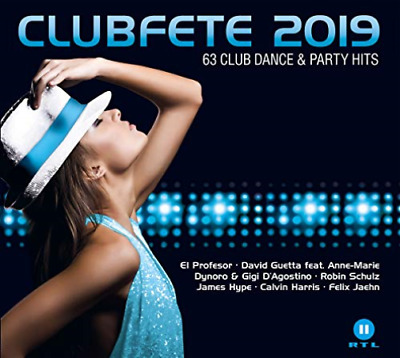 Various-Clubfete 2019 (63 Club Dance & Party Hits) (Uk Import) Cd New