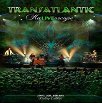 Transatlantic-KaLIVEoscope (UK IMPORT) CD / with DVD and Blu-ray NEW