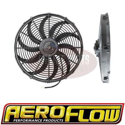 """Aeroflow 16"""" Electric Thermo Fan 2000 CFM, Curved Blades AF49-1003"""