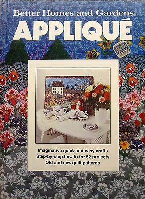 Vintage Applique Guide Book by Better Homes & Gardens-1982 Hardcover