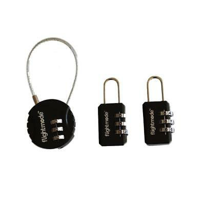Combination Travel Pad Lock 3 digit Long Neck for Suitcase Luggage Locks Padlock
