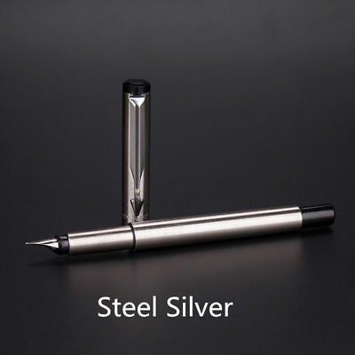 Perfect Parker Vector Stainless Steel Color Silver 0.5mm Fine Nib Fountain Pen