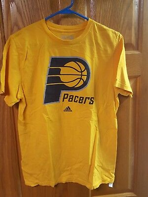 ADIDAS INDIANA PACERS HICKORY BASKEBALL TShirt, Red, men's L