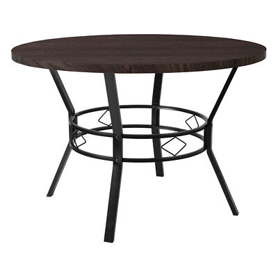 """Flash Furniture Tremont 45"""" Round Dining Table in Coffee Wood Finish Espresso"""