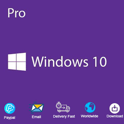 Genuine Windows 10 Professional pro Key 100% Original Retail License