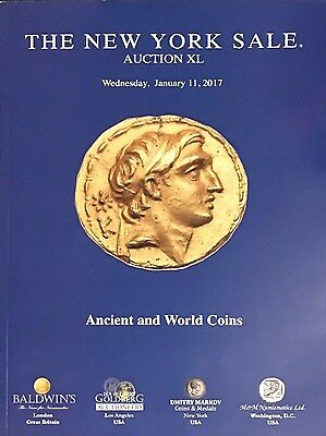 AUCTION OF ANCIENT AND WORLD COINS CATALOG REFERENCE BOOK 2017 XL New York Sale