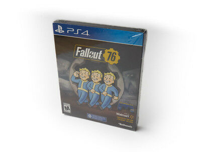 Fallout 76 PS4 EXCLUSIVE Edition! SteelBook + Skin + 500 atoms - BRAND NEW