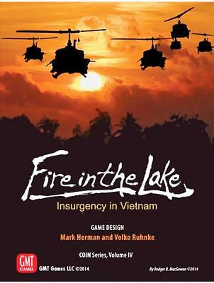 GMT Wargame Fire in the Lake - Insurgency in Vietnam (2nd Edition) Box SW