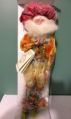 "Rare NEW in Box MARK ROBERTS ""BEST FRIEND FAIRY"" w/ COA - 33 / 500 - 16"" Tall"