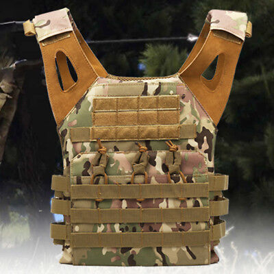 Military Paintball Army Airsoft Combat JPC Tactical Molle Plate Carrier Vest