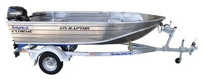 "Savage Raptor ""Extreme"" 375 Tinny (Brand New) suit Quintrex Stacer Clark buyers"