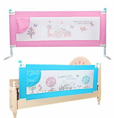 1.8M Bedrail Adjustable Lift Universal Summer Baby Toddler Child Bed Guard Rail