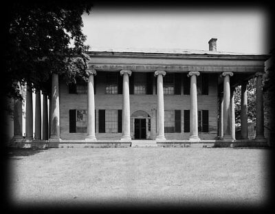 Classic Antebellum Plantation Mansion, PDF house floor plans, columns, details