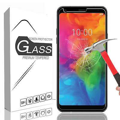 For LG Q7 Plus/Q7+/Q7 9H Protective Premium Real Tempered Glass Screen Protector