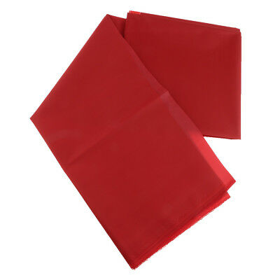1 Meter Heavy Duty Thick Waterproof Canvas Fabric Material Outdoor Cover Red
