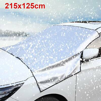 Windscreen Cover Magnetic Car Window Screen Frost Ice Large Snow Dust Protectors
