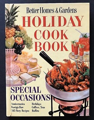 Vintage 1959 Better Homes & Gardens Holiday Cook Book Special Occasions Hardback