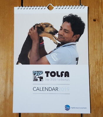 2019 Charity Calendar - TOLFA Animal Charity  **PRICE REDUCED**