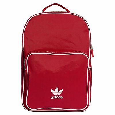 adidas ORIGINALS UNISEX ADICOLOR BACKPACK RED SCHOOL BAG RETRO VINTAGE NEW  BNWT 93ce8024b8c3f