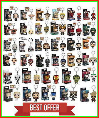 Funko Pocket Pop llavero Keychain tronos Figura Batman Wonder woman eleven jack