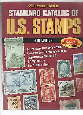 KRAUSE MINKUS guide to US STAMPS 2001 19 0817
