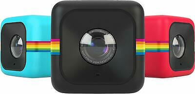 Polaroid Cube HD Digital Video Action Camera Camcorder (Black) with Strap Mount