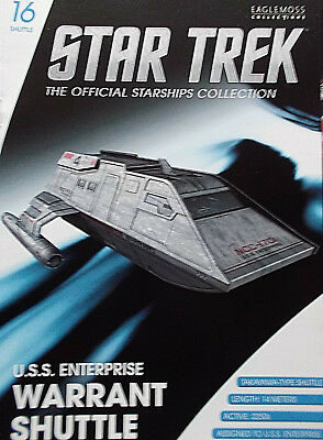 STAR TREK Shuttle TYPE-7 USS ENTERPRISE 1701-D NEW Raumschiffsammlung Eaglemoss