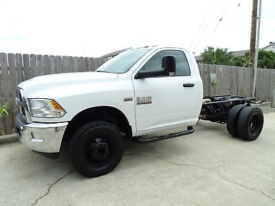 2016 Ram 3500 Tradesman 2016 Dodge Ram 3500 Regular Cab 4x4 Tradesman 4x4 6.4L Heavyduty V8 Hemi Engine