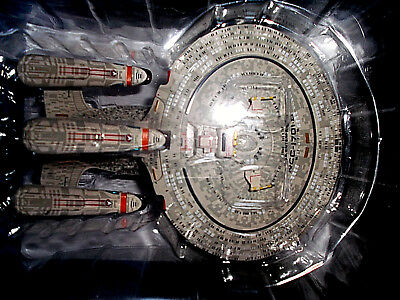 USS ENTERPRISE 1701-D Future Version NEU OVP Star Trek Eaglemoss Zukunft TNG Q