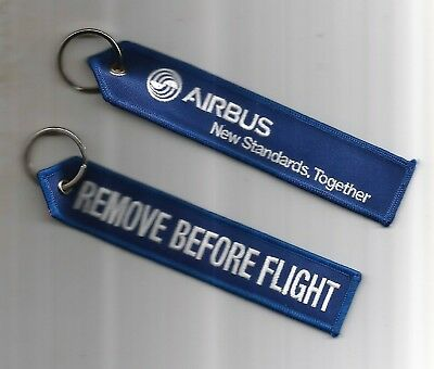Porte Cle Flamme Airbus New Standards Together - Neuf