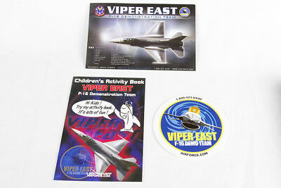 Viper East - USAF F-16 Falcon Demonstration Team - Air Show - F-16 Sticker