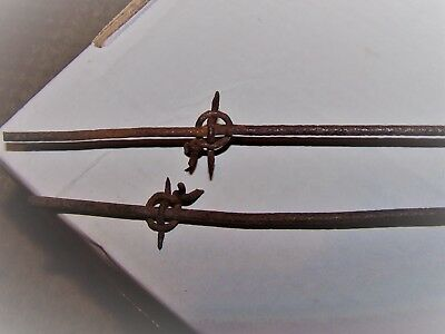 Two Pieces H. Reynold's Necktie One Line  Barbed Wire