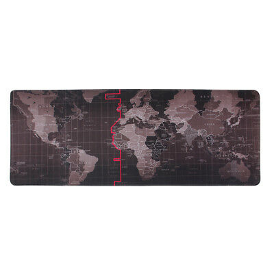Extra Large Mouse Pad Extended Gaming XXL 800x300mm Big Size Desk Mat Black