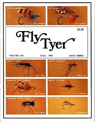 Museum of Flyfishing VT First Curator of Amer Hogan Fly Tyer Austin S