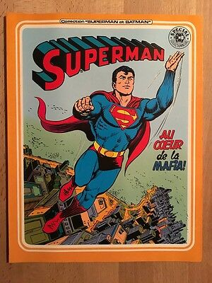 SUPERMAN - Au coeur de la Mafia -  Sagédition - 1980 - NEUF