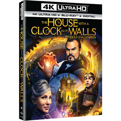 The House with a Clock in it's Walls 4K Ultra HD + Blu Ray + Digital NEW
