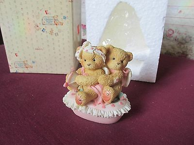 Cherished Teddies Aiming for your Heart trinket box