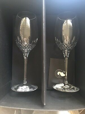 Waterford Lismore Essence Wine Glasses Set Of 2
