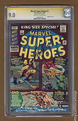 Marvel Super Heroes (Marvel One-Shot) #1 1966 CGC 9.0 SS 1008925009