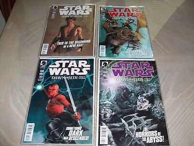 Star Wars Dawn of the Jedi:  Force Storm Comics