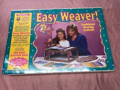 Easy Weaver Traditional Weaving Craft Kit Made in USA!  Factory Sealed-free ship