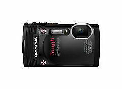 Olympus Stylus Tough TG-850 16.0MP Digital Camera (Black) AS-IS NOT TESTED