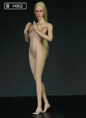 "1:6 Scale Carving Model H002 F/12"" Female Figure Body Toy No Figure Only Head"