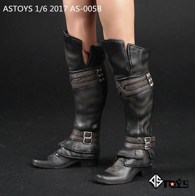 "ASTOYS 1//6 Male Shoes Model AS003 Combat Boots Toy Fit 12/"" Action Figure Display"