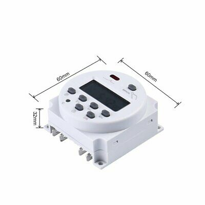 CN101A 12V Weekly LCD Digital Power Programmable Timer Time Relay Switch LMG