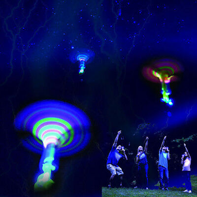 AU_ LED Light Up Flashing Dragonfly Glow Flying Dragonfly Party Toys Kids Gift t