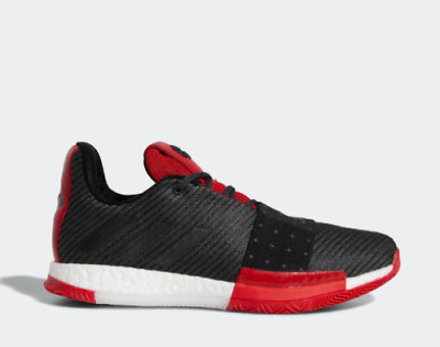 58fce597349d NEW ADIDAS MEN S Harden Vol 3 Basketball Shoes (AQ0034) Black Grey-Scarlet  Red -  103.99