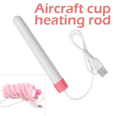 New USB Heating Rod Warmer Reverse Mold Inflatable Doll Toy Heating Stick AU