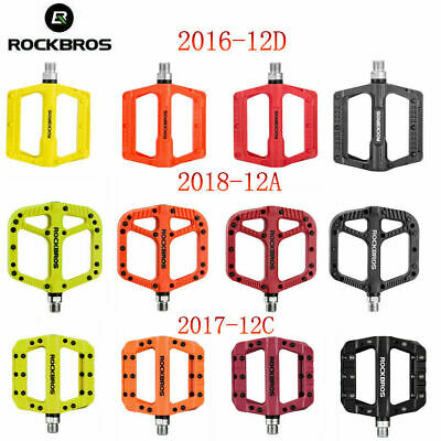 ROCKBROS MTB Widen Nylon Pedals Bicycle Pedal Bearing Mountain Bike Pedal a Pair